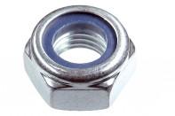 Гайка со стопорным кольцом (самоконтрящая) - DIN 985