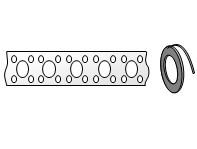 Перфорированная лента для вентиляции