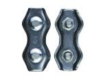 Зажим для стальных канатов двойной оцинкованный DUPLEX