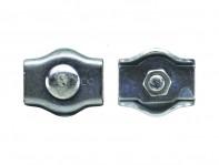Зажим для стальных канатов одинарный оцинкованный SIMPLEX
